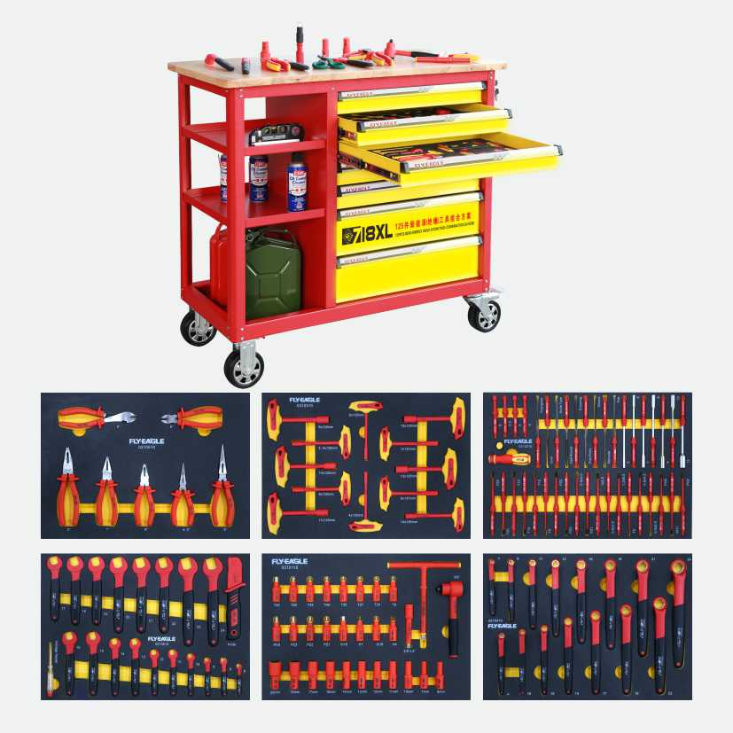 125pcs New Energy Insulated Tool Combination Scheme